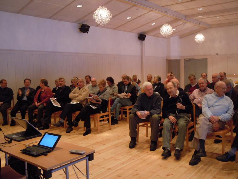 Kraft & Energidagen i Forsslundssalen på Ludvika Gammelgård samlade rätt mycket folk. Det var tydligt att ämnet berörde.