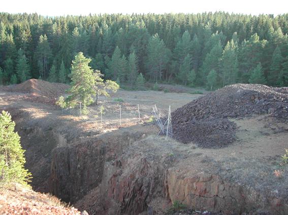 nedlagda gruvor i bergslagen