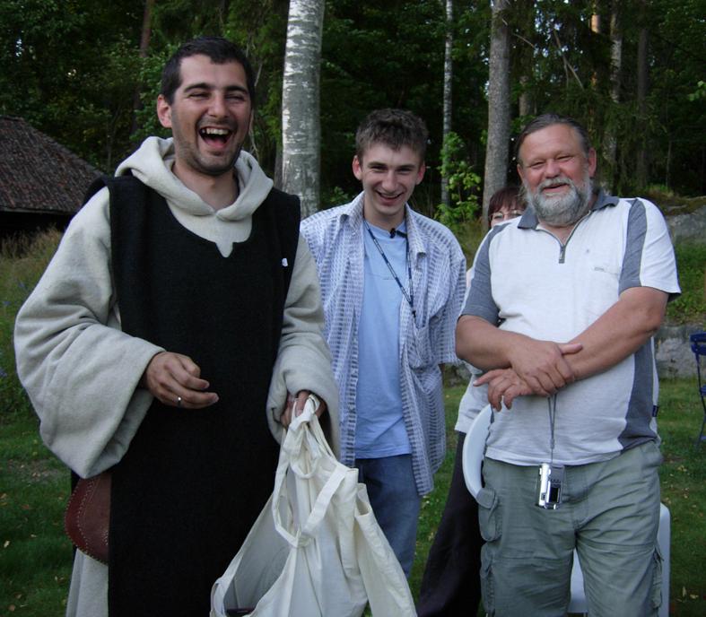 Varm kontakt och kommunikation mellan Polen och Sverige. Ekomuseum besöktes av glada ekomuseivänner från Schlesien i sydvästra Polen. Vi har mötts och vet var vi finns nu! Foto ChL.