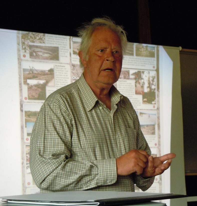 Jan Mikaelsson från Linnéuniversitetet i Kalmar berättar om satsningar på Öland och om tidsbegreppen inom geologin på Geodagen i Riddarhyttan den 13 maj.
