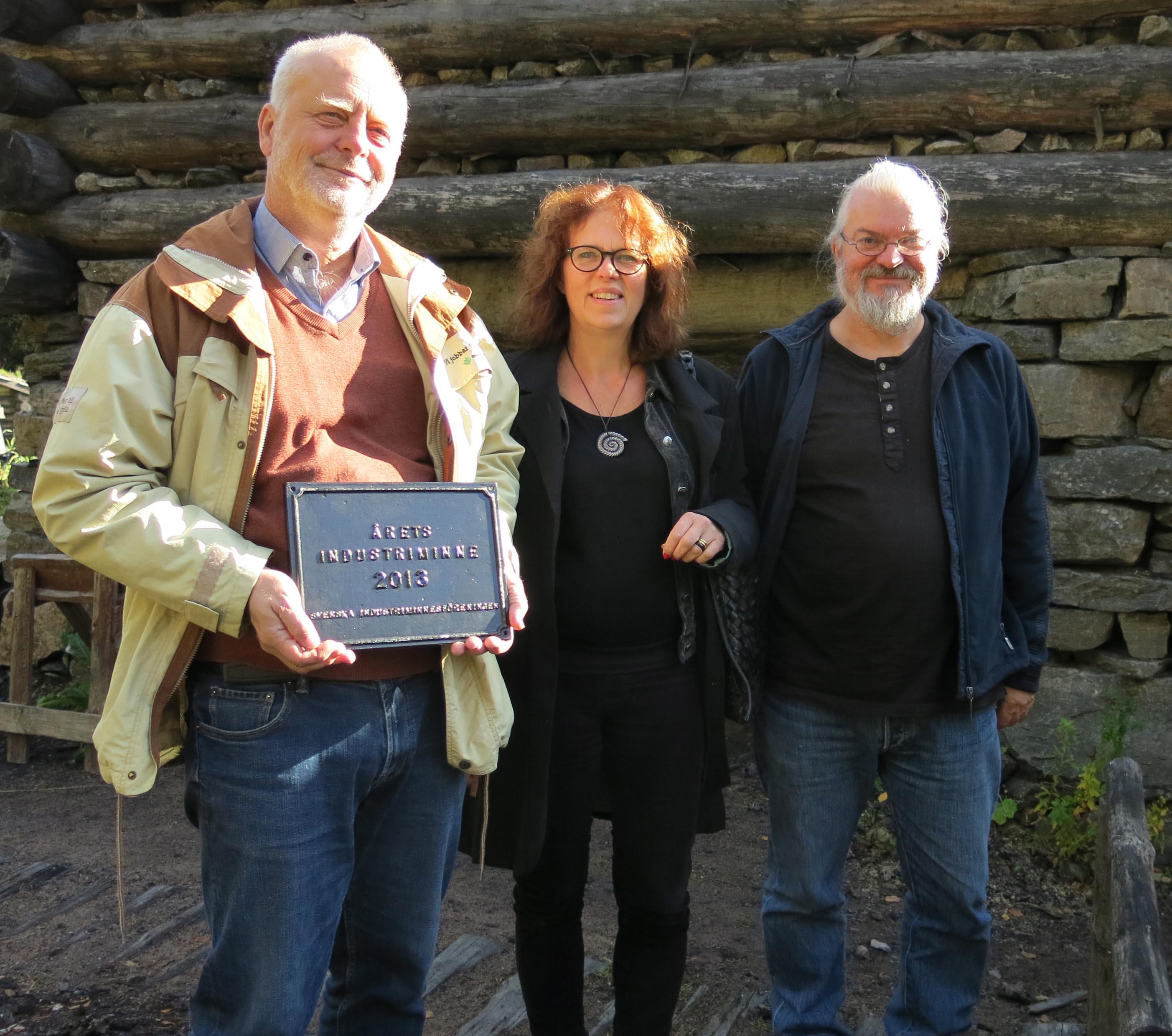 Ulf Öhman, Ing-Marie Petterson Jensen och Lars-Erik Lärnemark.