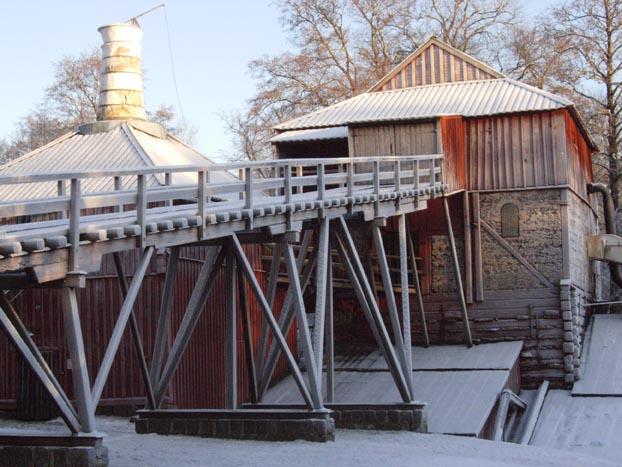 Hyttplatsen vid Engelsbergs bruk
