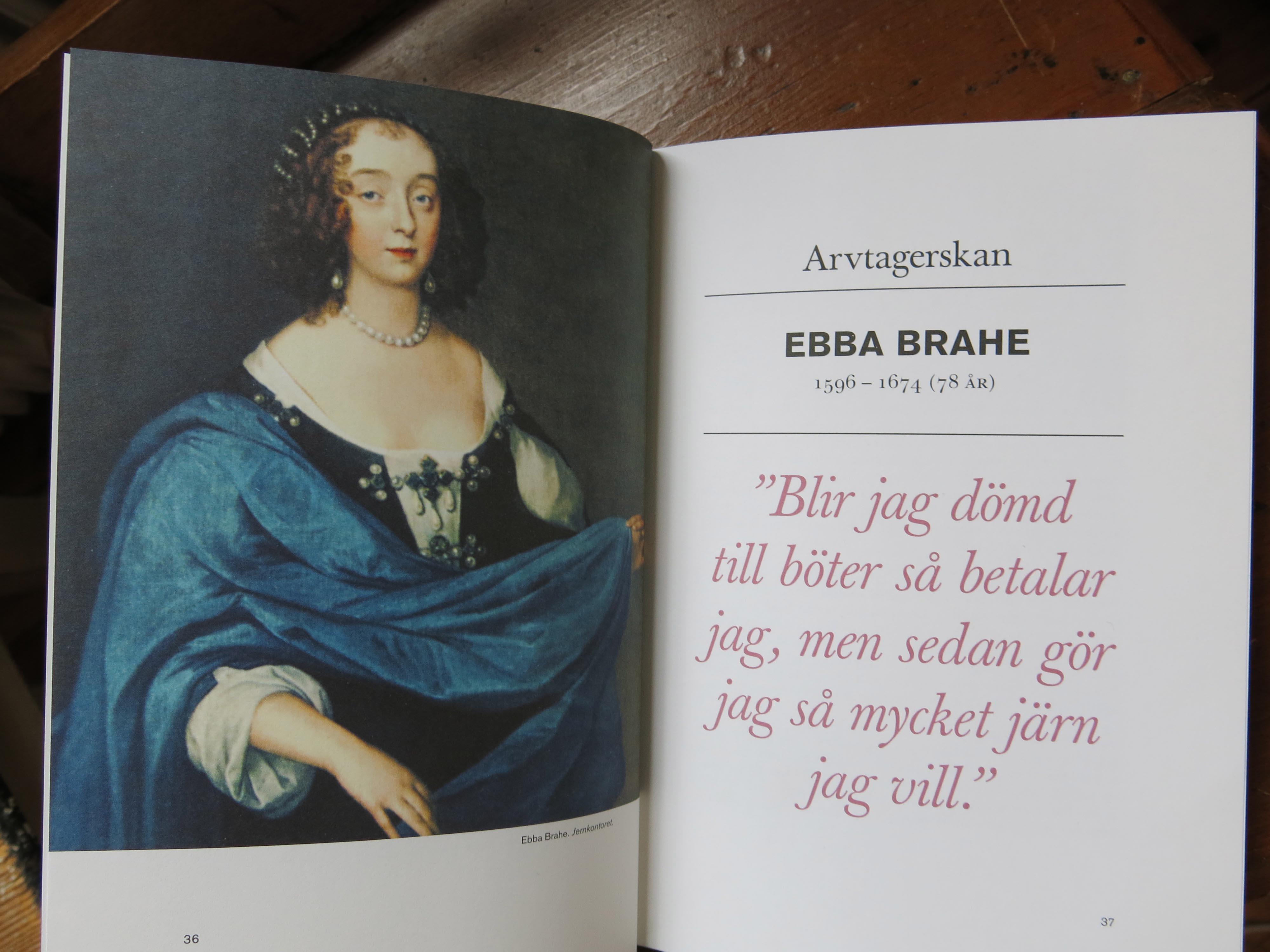 Exempel på en kvinna som bland annat drev bergsbruk i Bergslagen