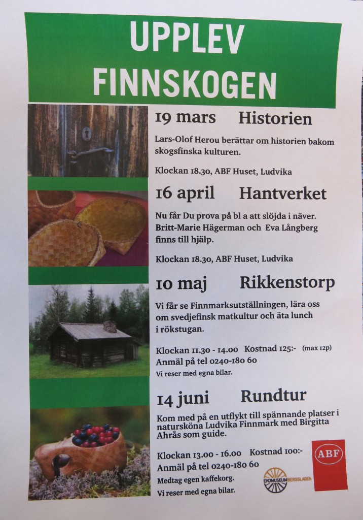 Fyra tillfällen att lära om skogsfinska kulturen