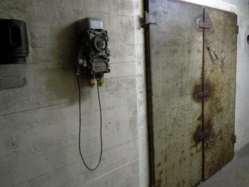 Sammlung Boros Berlin, på väg in i bunkern. Foto ChL.