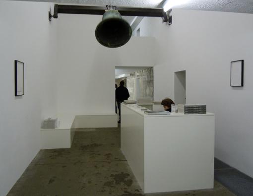 Sammlung Boros Berlin, receptionen. Foto ChL.