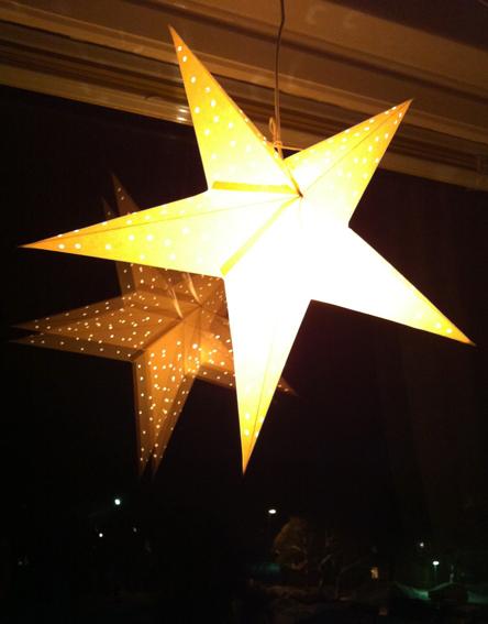 Julstjärna i midvinternatten.