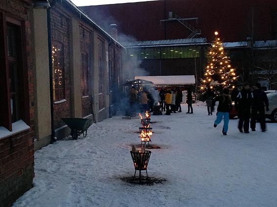 Kreativ julmarknad på Meken.
