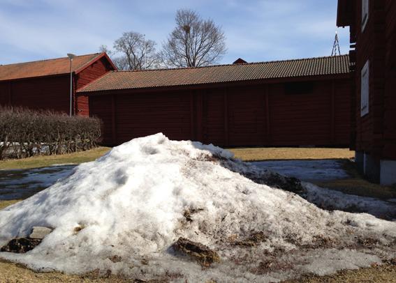 Ludvika Gammelgård snöhög