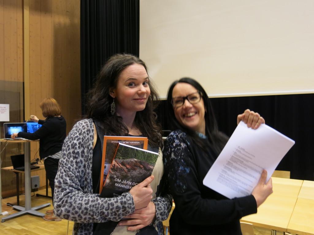 Lotta Wedérus och Linda Svensson